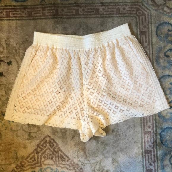 See By Chloe Pants - See by Chloe Lace Shorts